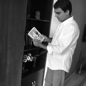 Naveen Reading Book